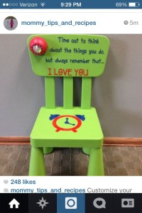 Customize Your Own Timeout Chair! great Idea! - Musely