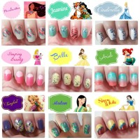 Disney Princess Inspired Nails! - Musely