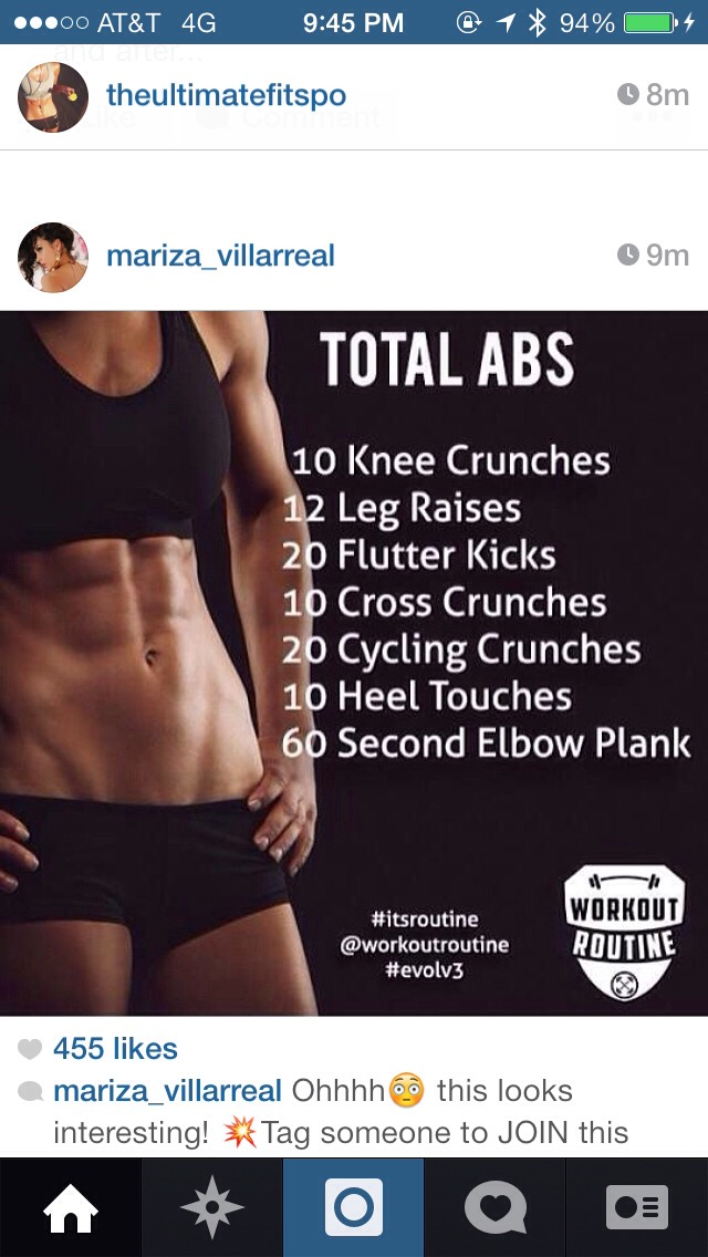 Total Abs Workout Try It Musely