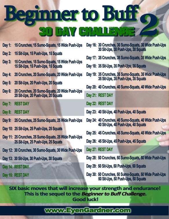 30 day beginner to