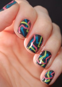 Colorful Nail Design  - Musely