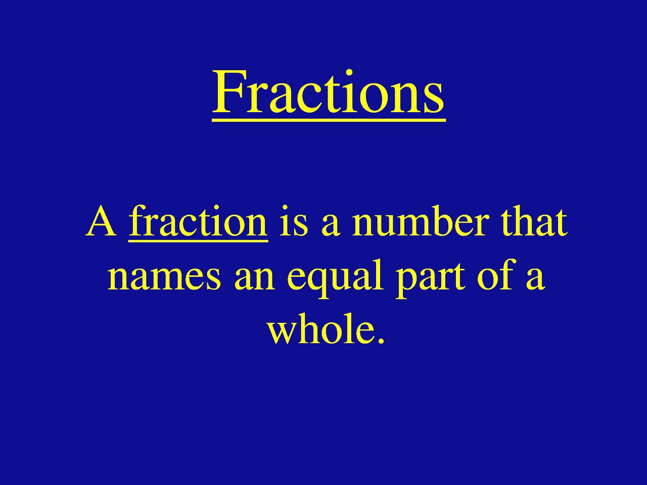 How To Find The Missing Numerator Or Denominator To Make