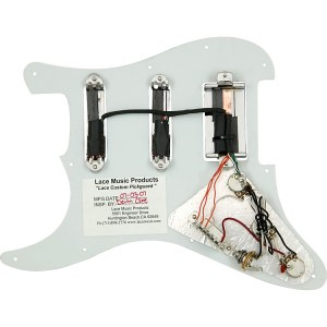 Lace Alumitone PreLoaded Pickguard SSH | Music123