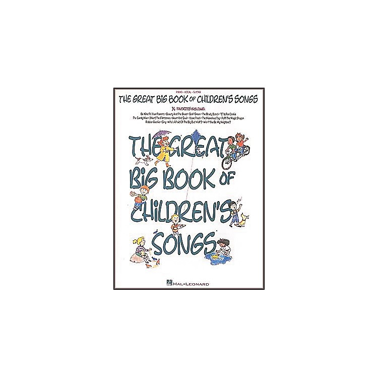 Hal Leonard The Great Big of Children's Songs Piano/Vocal