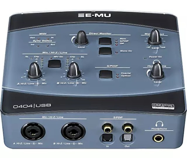 E Mu  0 Audio Midi Interface