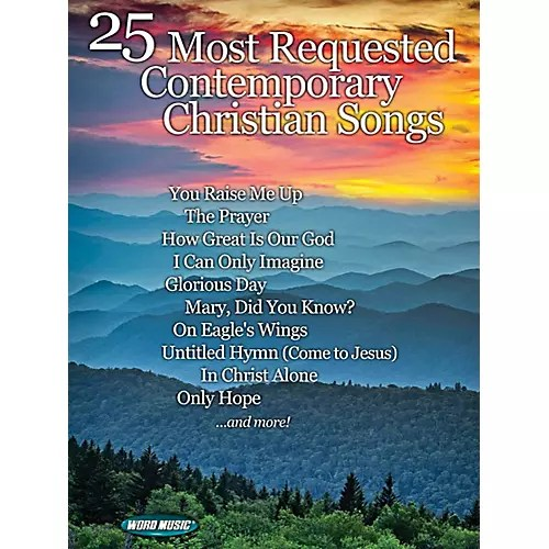 Word Music 25 Most Requested Contemporary Christian Songs  Musicians Friend