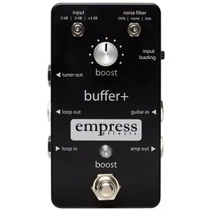 Empress Effects Buffer Analog IO Interface Guitar Pedal