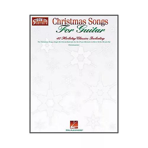 Hal Leonard Christmas Songs for Guitar Strum It Guitar