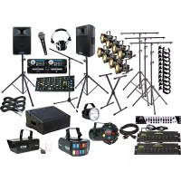 Lighting Complete DJ Sound and Lighting Package | Musician ...
