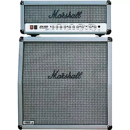 Marshall DSL100 and 1960A Silver Edition 100W Half Stack
