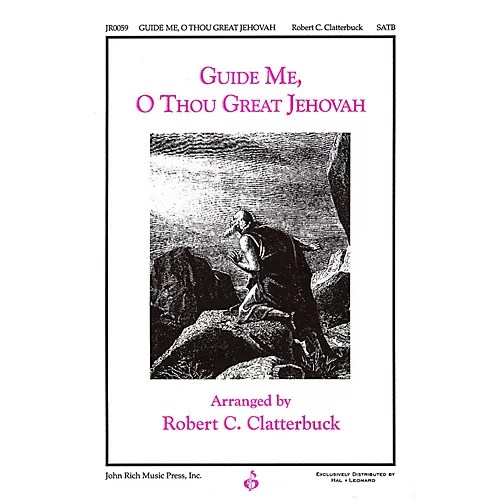 Pavane Guide Me, O Thou Great Jehovah SATB arranged by