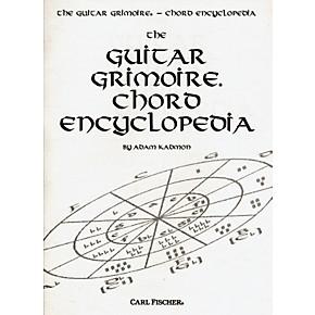 Carl Fischer Guitar Grimoire Chord Encyclopedia Book