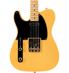 fender american vintage 52 telecaster left handed electric guitar butterscotch blonde maple neck the enduring strength of the telecaster guitar is its  [ 1000 x 1000 Pixel ]