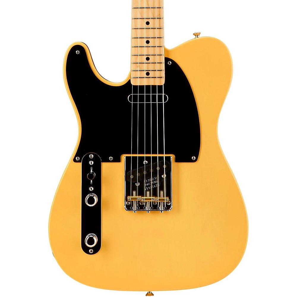 hight resolution of fender american vintage 52 telecaster left handed electric guitar butterscotch blonde maple neck the enduring strength of the telecaster guitar is its