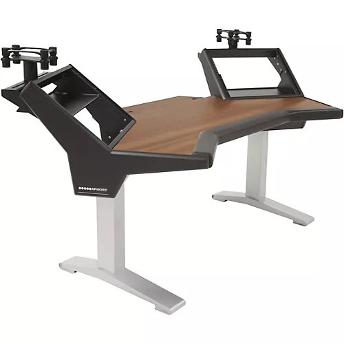 Argosy Halo Plus Desk with Mahogany Surface  Musicians