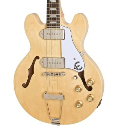 epiphone casino coupe hollowbody electric guitar natural the casino coupe is the legendary casino reborn in an es 339 body size it s a racecar coupe sized  [ 1000 x 1000 Pixel ]