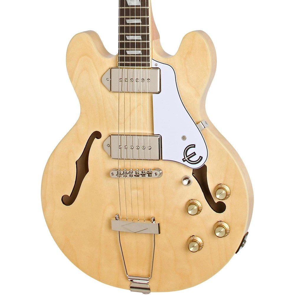 medium resolution of epiphone casino coupe hollowbody electric guitar natural the casino coupe is the legendary casino reborn in an es 339 body size it s a racecar coupe sized