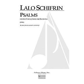 Lauren Keiser Music Publishing Psalms (for Chorus and