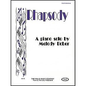 Willis Music Rhapsody Mid-Intermediate Piano Solo by