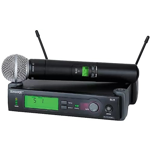 Shure Pgx Sm58 Wireless Microphone System