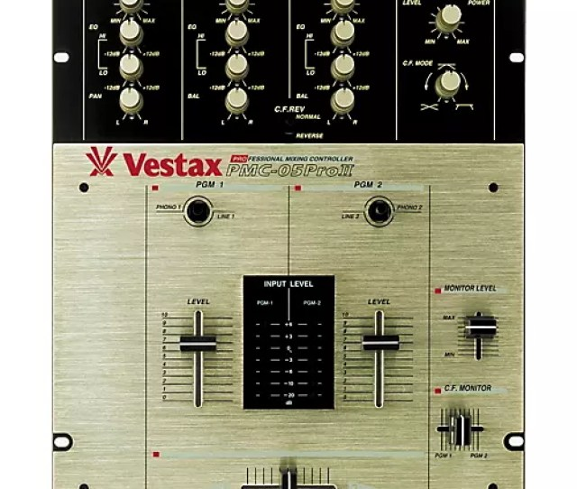 Vestax Vestax Pmc 05 Pro Ii 2 Channel Dj Scratch Mixer