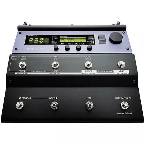 TC Helicon VoiceLive Vocal Floor Processor  Musicians Friend