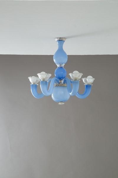 Home lighting table lamps gio ponti & Gio Ponti Lampadario Venini 1940s Mutualart