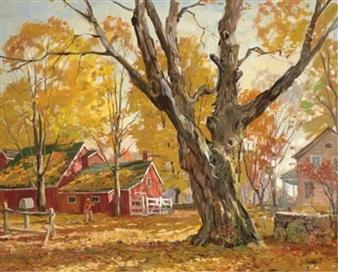 The Fall Wallpaper Artworks Of George Cherepov 1909 1987