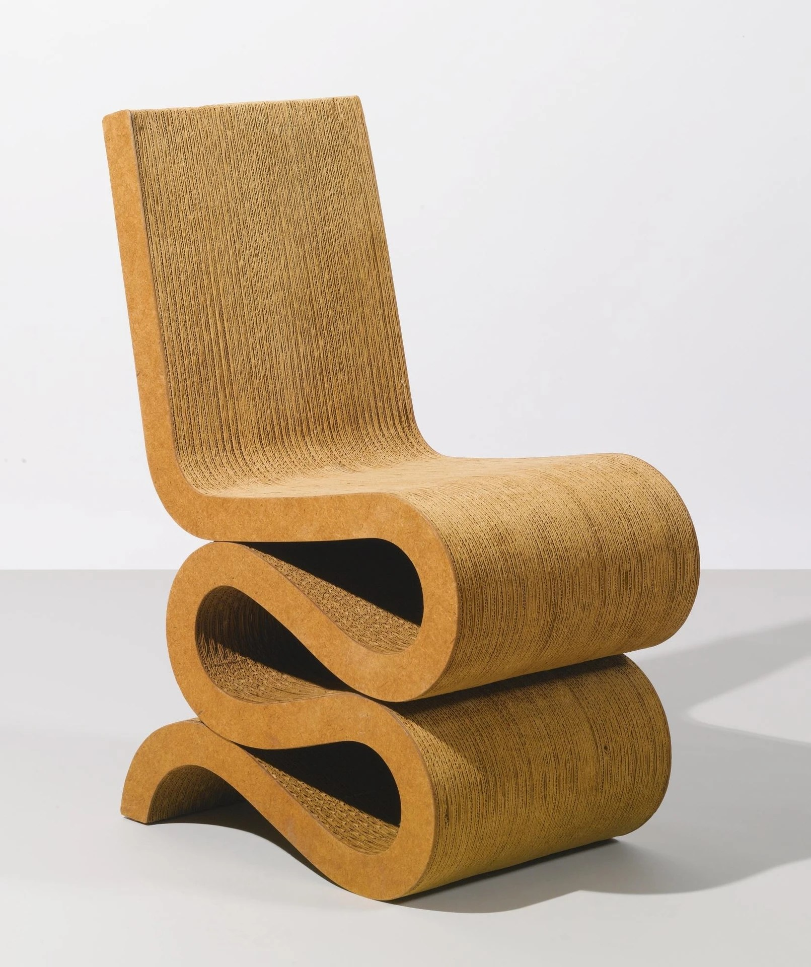 frank gehry cardboard chair folding buy prototype quotwiggle quot 1971