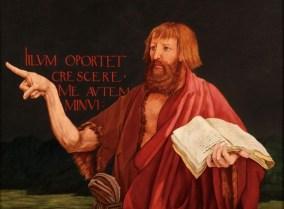 Matthias Grünewald | John the Baptist (from the Isenheim Altarpiece) |  MutualArt
