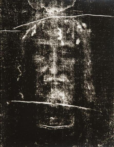 Le Saint Suaire De Turin : saint, suaire, turin, Enrie, Giuseppe, Saint-suaire, Turin, (1931), MutualArt