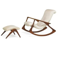 Vladimir Kagan Rocking Chair Covers For Large Dining Room Chairs 2 Works No 175f Ottoman New Artwork By