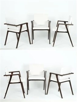chair cba steel for baby to sit up albini franco folding 1954 mutualart 6 works chaises mod pt1 luisa