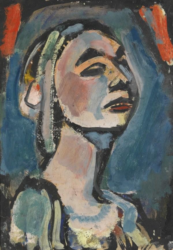 Georges Rouault - Portrait De Tamara Karsavina