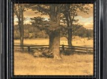 Prins Eugen - Ekar vid staket, 1896, Pastel