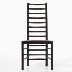 Charles Rennie Mackintosh Willow Chair Best After Neck Surgery Ladder Back From Miss Cranston S Artwork By Tea Rooms