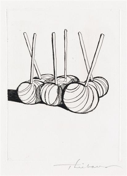 Artworks of Wayne Thiebaud (American, 1920)