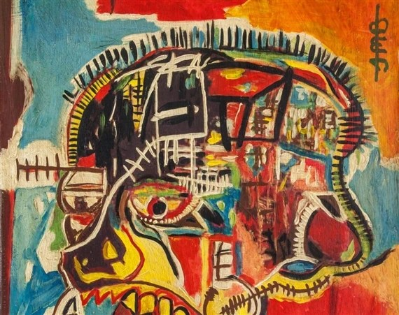 Jean MichelBasquiat | Skull | MutualArt