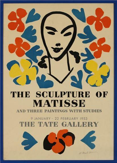 matisse henri exhibition poster
