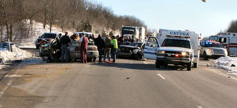 Vermillion County Accident  picture provided by Indiana State Police