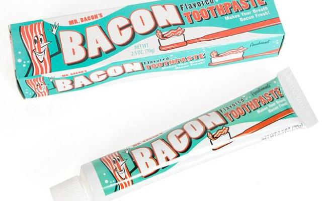 The Folks At Firebox Have Come Up With Bacon Toothpaste