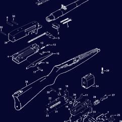 Ruger Pistol Parts Diagram Harbor Breeze Fan Light Wiring 10 22 Schematic Gun Diagrams Midwayusa
