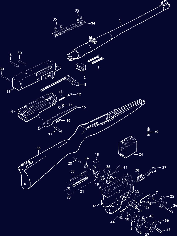 medium resolution of  ruger 10 22 schematic