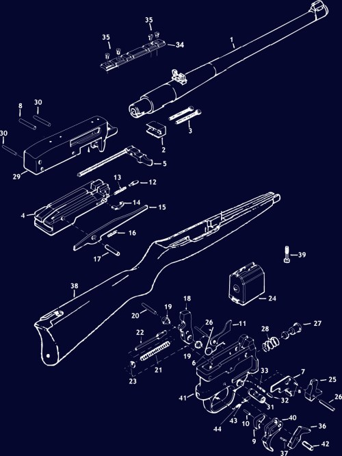 small resolution of  ruger 10 22 schematic