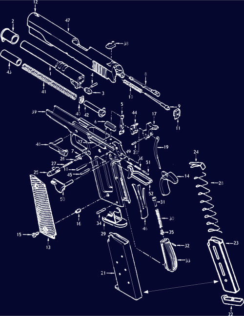 small resolution of  1911 schematic