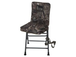 swivel hunting chair reviews small white kitchen table and 2 chairs millennium g 100 ground blind mpn 00 banded 600d fabric