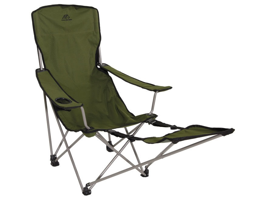 folding chair with footrest royal blue dining chairs alps mountaineering escape steel mpn 8149007