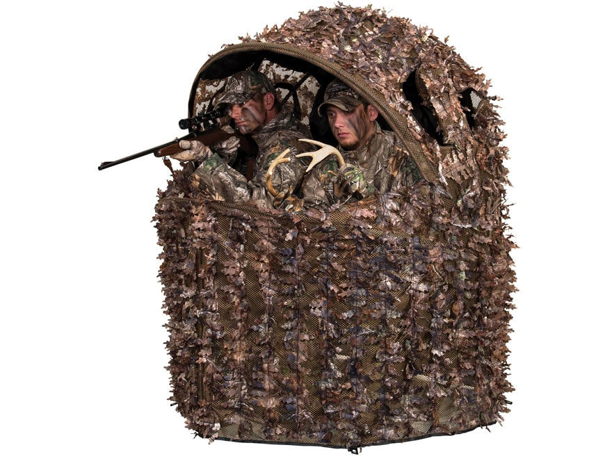 ameristep chair blind flexible love uk buy deluxe 3d leafy 2 man ground realtree xtra camo