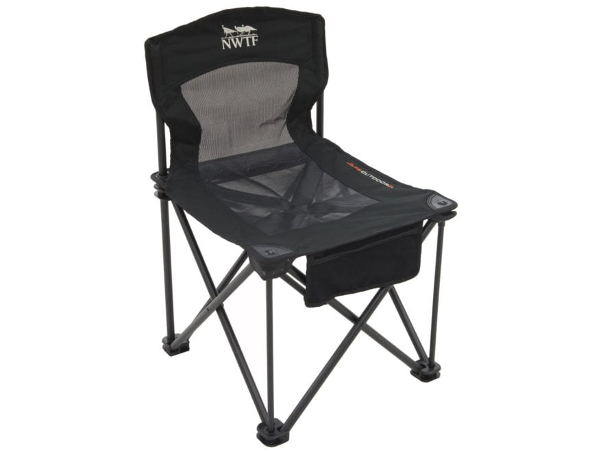 ground blind chair patio repair kit alps outdoorz nwtf striker black mpn 8412907