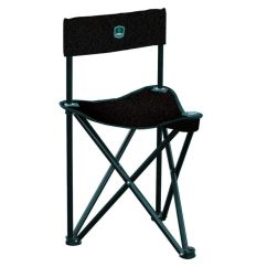 Ground Blind Chair Steel Specification Barronett Folding Black Mpn Bc100